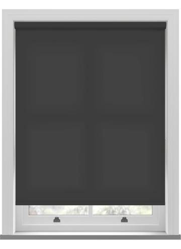 Roller Blinds Splash Black