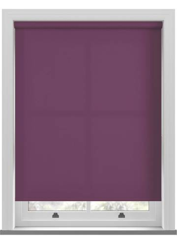 Roller Blinds Unicolour FR Mulberry Purple