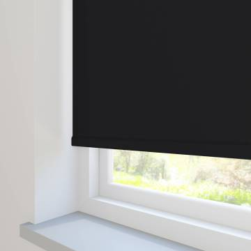 Roller Blinds Unilux PVC Blackout Black