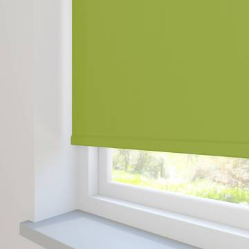Roller Blinds Unilux PVC Blackout Lime