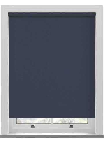 Roller Blinds Unishade Blackout FR Navy Blue