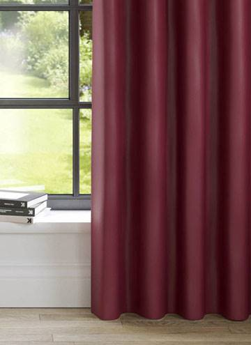 Curtains Panama Claret