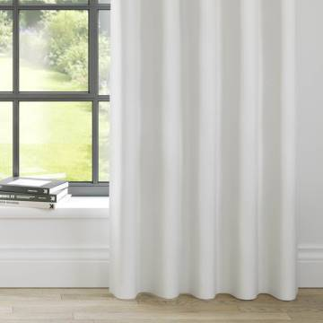 Curtains Panama White