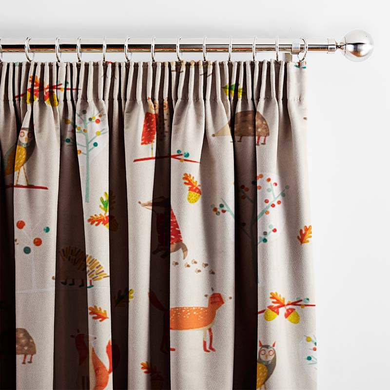 Curtains Autumn Wood Butterscotch