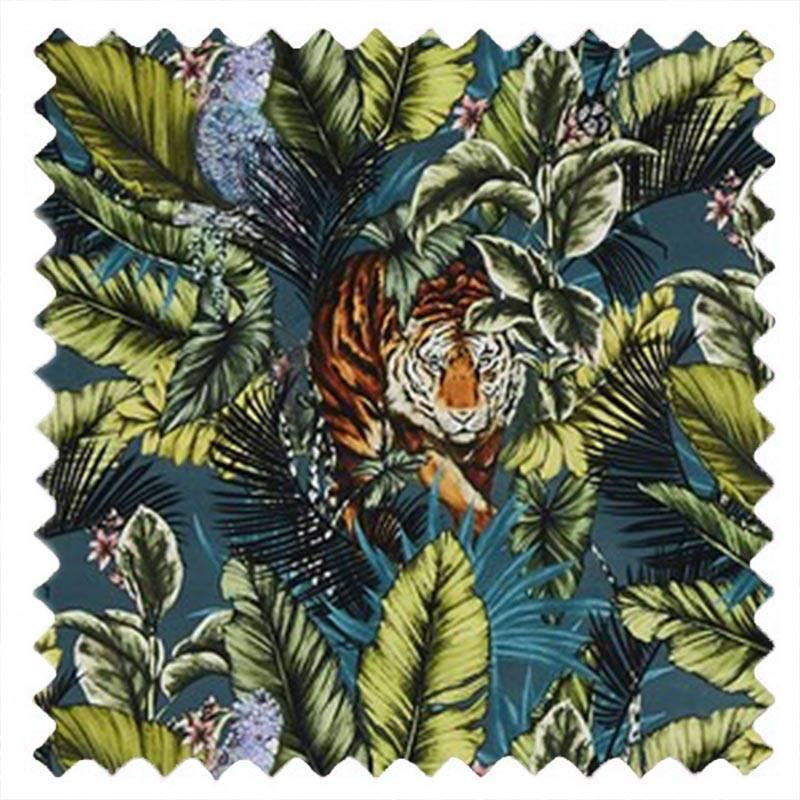 Bengal Tiger Velour Twilight