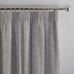 Curtains Gleneagles Stripe Silver