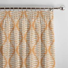 Curtains Lottie Auburn Orange