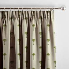 Menara Palm Embroidered Olive