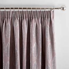 Curtains Quill Iris Pink
