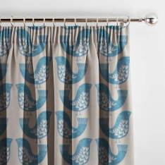Curtains Scandi Birds Capri