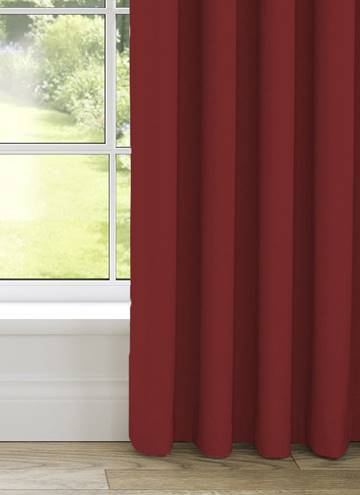 Curtains Malmo Red