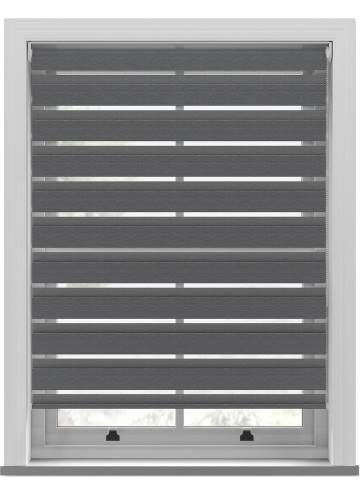 Day and Night Blinds Kanza Softshade Blackout Dove Grey
