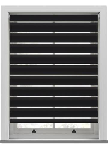 Day and Night Blinds Nobis Softshade Charcoal Black