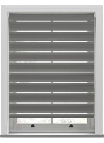 Day and Night Blinds Nobis Softshade Mid Grey