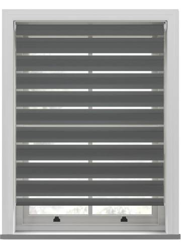 Day and Night Blinds Nobis Softshade Steel Grey