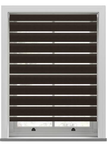 Day and Night Blinds Rift Softshade Dark Wood