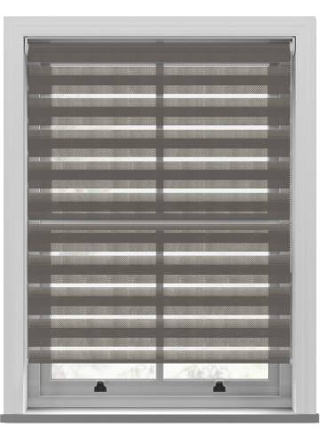 Day and Night Blinds Rosso Softshade Rock Grey