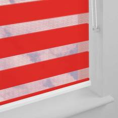 Day and Night Blinds Capri Vision Scarlet