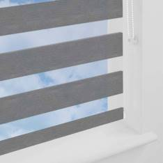 Day and Night Blinds Hoxton Softshade Zinc Grey