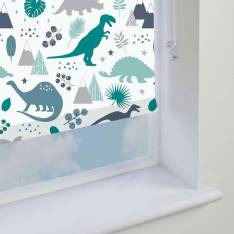 Electric Roller Blinds Jurassic Blackout Marine