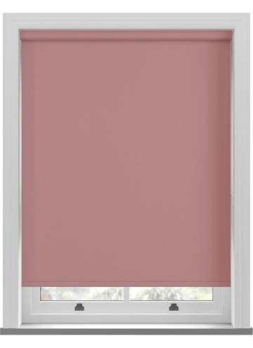 Electric Roller Blinds Bella Blackout Blush Pink