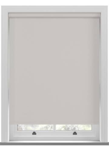 Electric Roller Blinds Bella Blackout Dove Grey