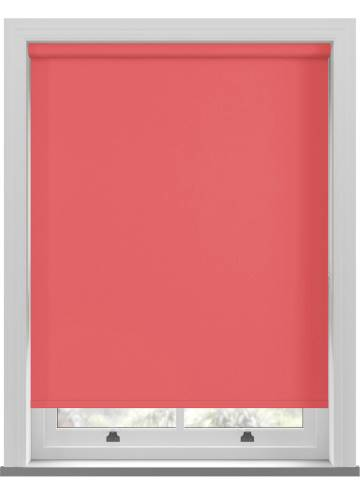 Electric Roller Blinds Bella Blackout Flamingo Pink