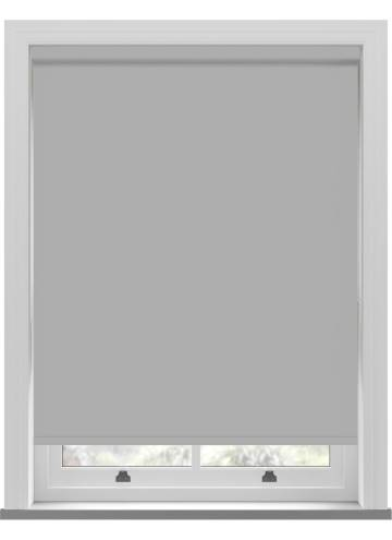 Electric Roller Blinds Bella Blackout Grey Whisper