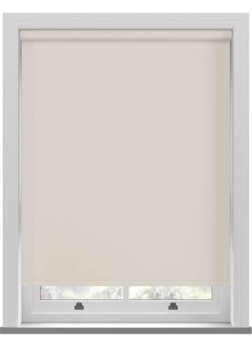 Electric Roller Blinds Bella Blackout Ivory Off-White