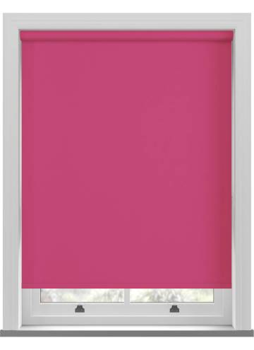 Electric Roller Blinds Bella Blackout Lipstick Pink