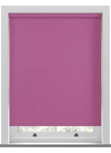 Electric Roller Blinds Bella Blackout Orchid Purple