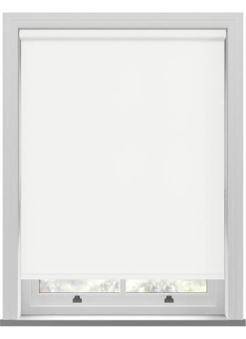 Electric Roller Blinds Bella Blackout Paper White