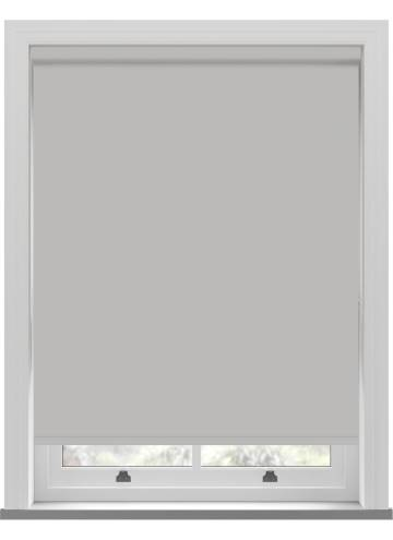 Electric Roller Blinds Bella Blackout Pebble Grey
