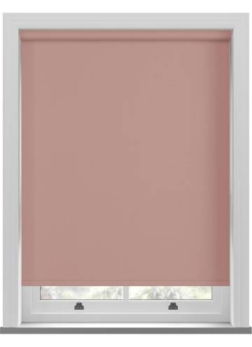 Electric Roller Blinds Bella Blackout Rose Gold