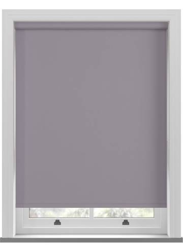Electric Roller Blinds Bella Blackout Sloe Purple