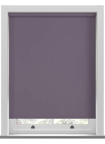 Electric Roller Blinds Bella Blackout Smokey Purple