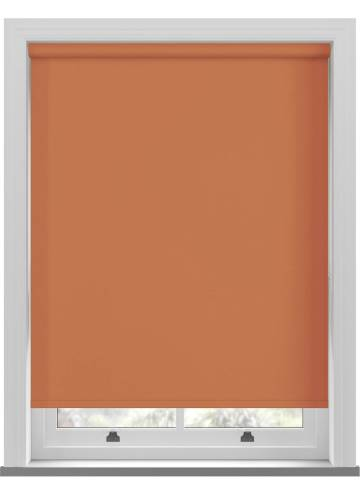Electric Roller Blinds Bella Blackout Tango Orange