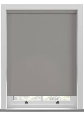 Electric Roller Blinds Bella Blackout Tropez Grey
