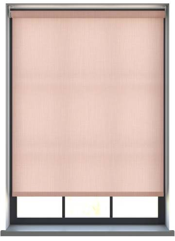 Electric Roller Blinds Bexley Peony Pink