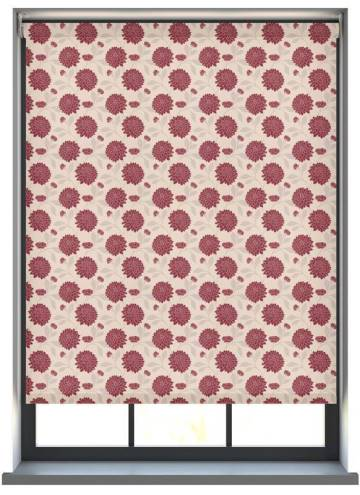 Electric Roller Blinds Bloom DR Rouge