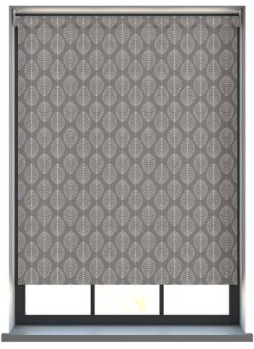 Electric Roller Blinds Boheme PVC Blackout Steel
