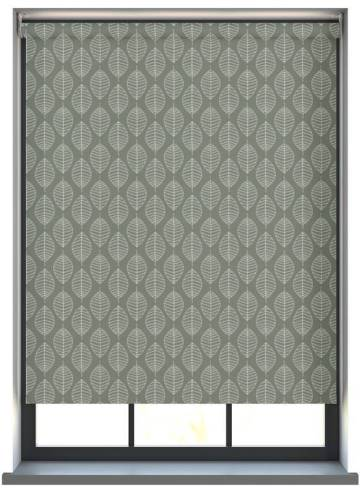 Electric Roller Blinds Boheme PVC Blackout Willow