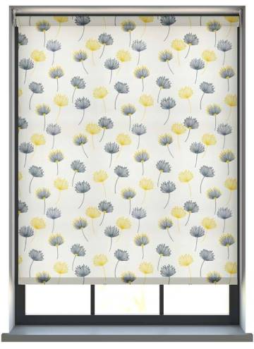 Electric Roller Blinds Calista Citrus