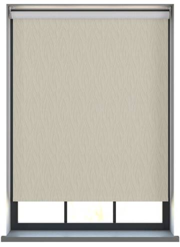 Electric Roller Blinds Diva PVC Blackout Vanity