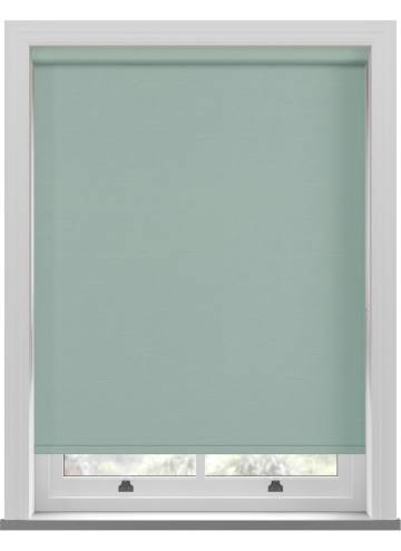 Electric Roller Blinds Estella Blackout Duck Egg