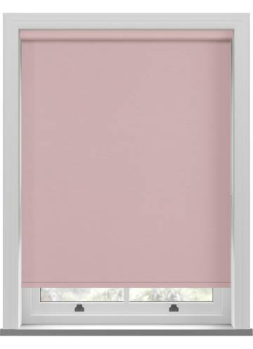 Electric Roller Blinds Estella Blackout Sorbet Pink