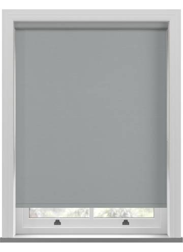 Electric Roller Blinds Estella Blackout Steel Grey