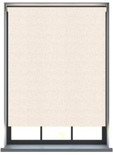 Electric Roller Blinds Isla PVC Blackout Ivory