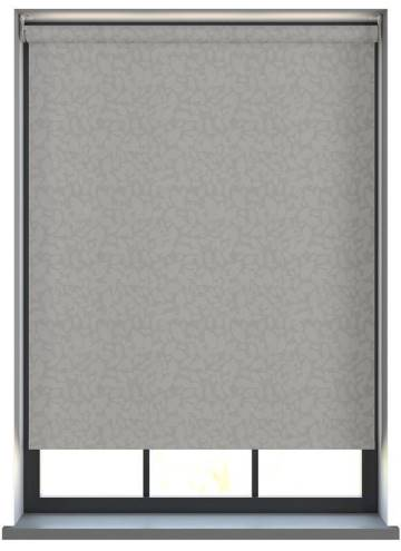 Electric Roller Blinds Isla PVC Blackout Marina Grey