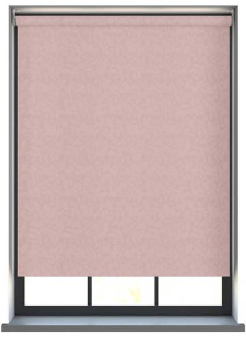 Electric Roller Blinds Isla PVC Blackout Sorbet Pink